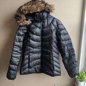Eddie Bauer Down Hooded Jacket